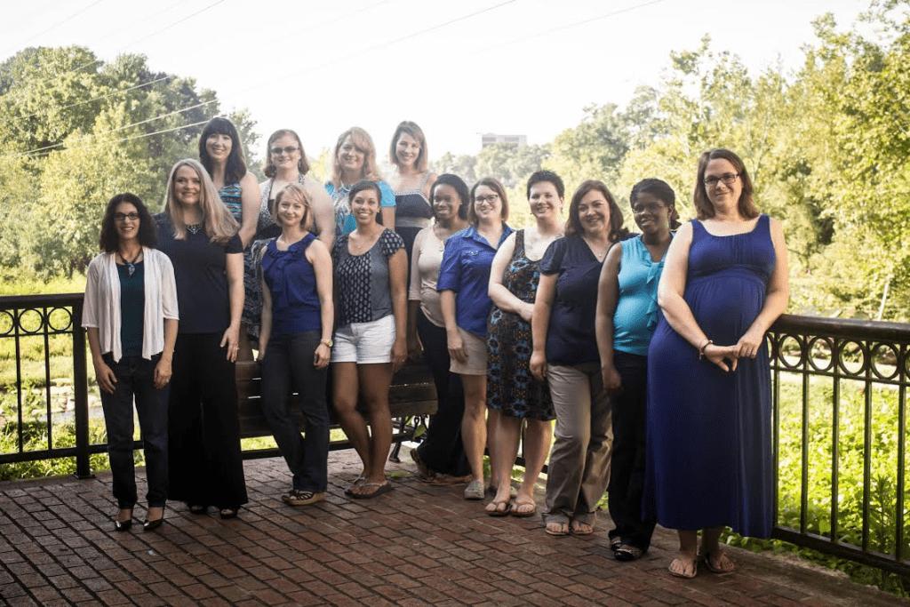 Columbia SC Moms Blog Contributors Group Shot