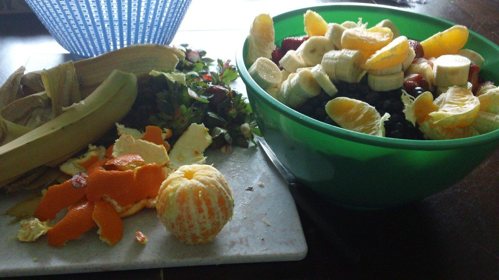 Rainbow Salad - Hosting a Nutritious (and Fun!) Birthday Party | Columbia SC Moms Blog
