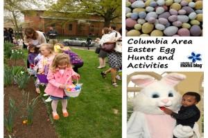 columbia area easter egg hunts