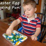Easter Egg Dyeing Fun!