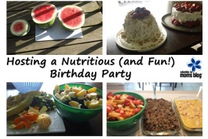 hosting a nutrious and fun birthday party
