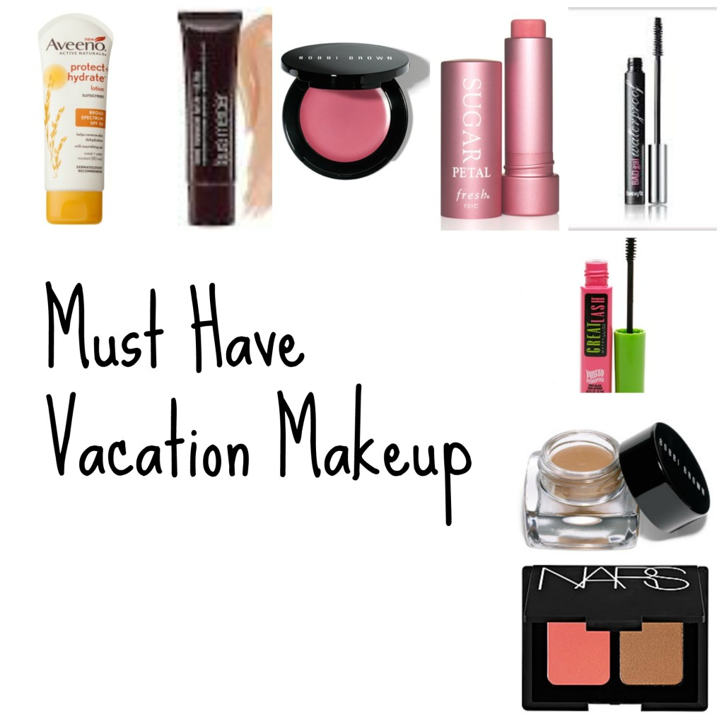 top 6 summer vacation makeup must haves - Makeup Must Haves