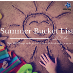Summer 2014 Bucket List
