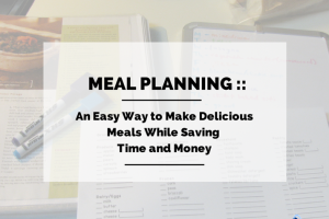 meal planning cover