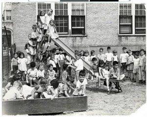 School yard bully post