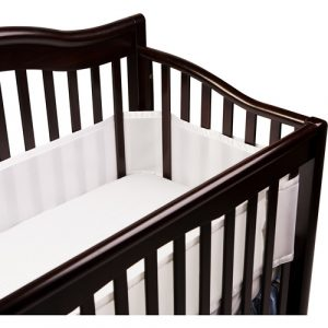 Rest easy knowing your baby is safe in her crib