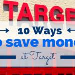 10 Ways to Save Money at Target