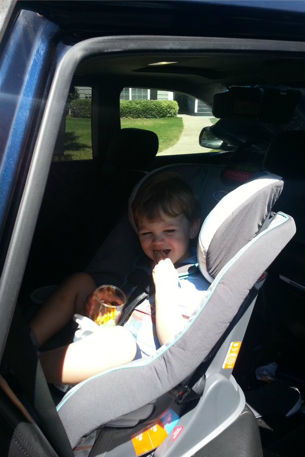 I Never Thought I\'d Become THAT Mom :: Extended Rear-Facing Car Seats