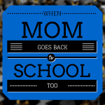 mom goes back to school