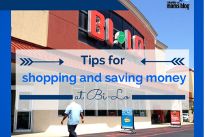 tips for shopping and saving money at Bi-Lo