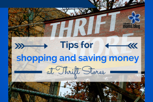 tips for shopping and saving money at thrift stores