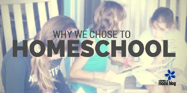 why we chose to homeschool