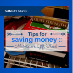 Tips for Saving Money :: Maintain a Gift Closet