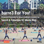 Join Columbia SC Moms Blog and barre3 Columbia for a Grand Opening Class {Childcare Included}!