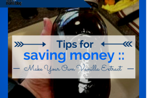 tips for saving money - make your own vanilla extract