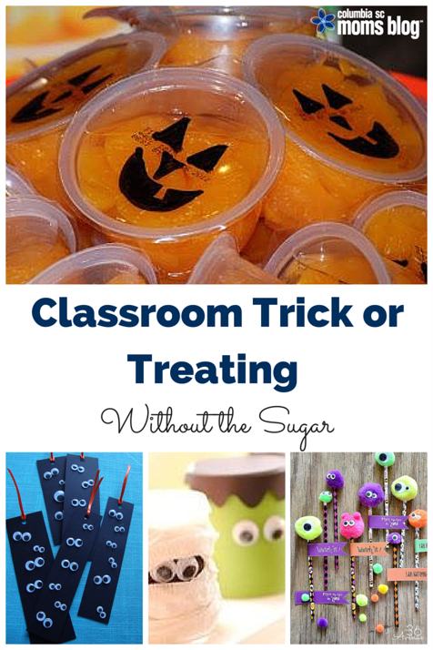 classroom trick or treating without the sugar pinterest