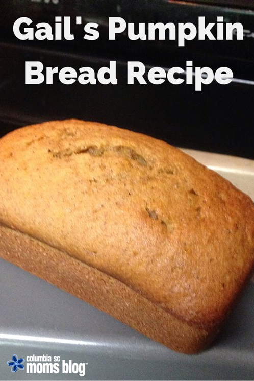 gails pumpkin bread recipe