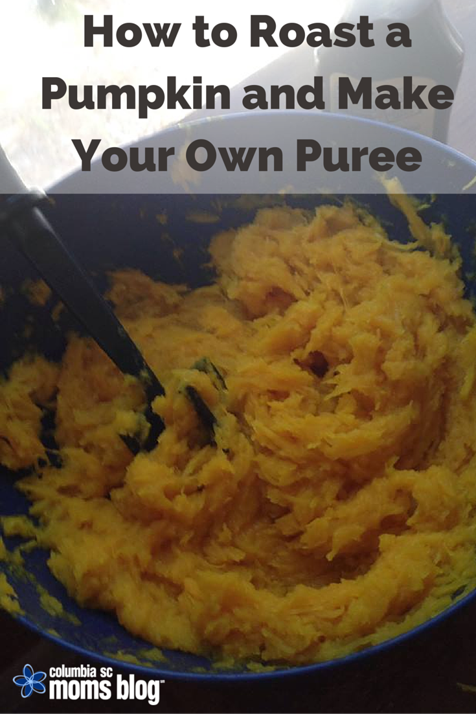 how to roast a pumpkin and make your own puree