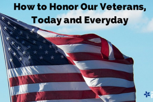 how to honor our veterans, today and everyday