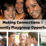 Making Connections :: Community Playgroup Opportunities