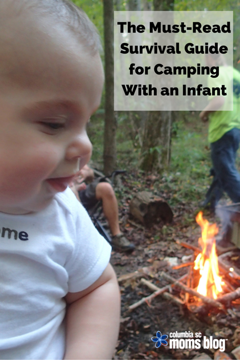 survival guide for camping with an infant