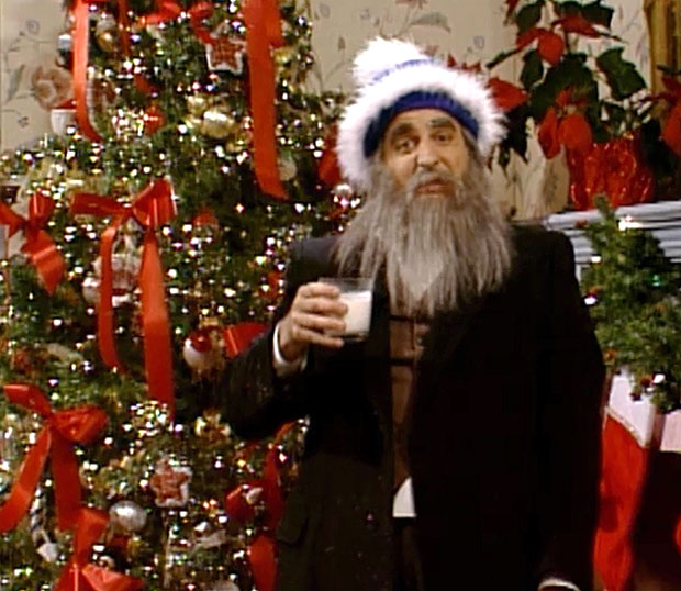 Have you seen the Hanukkah Harry sketch from SNL? He's got nothing on Joe.