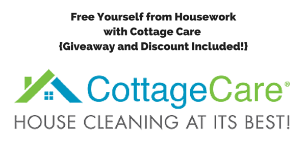 Free Yourself From Housework With CottageCare {Giveaway And Discount  Included!}