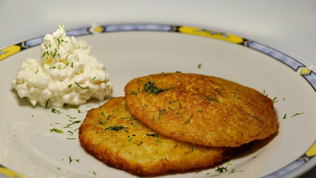 Картофельные драники из пюре рецепт с фото