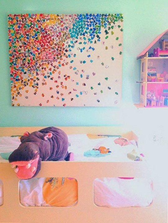 Картина детская своими руками