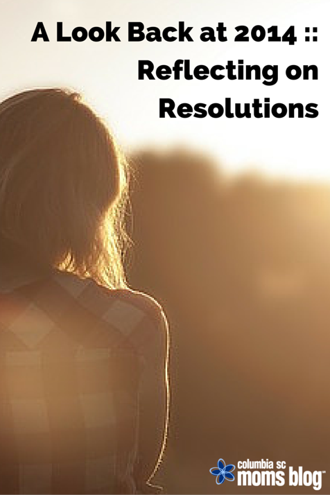 look back at 2014 resolutions