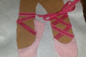 Tie the ballet shoe!