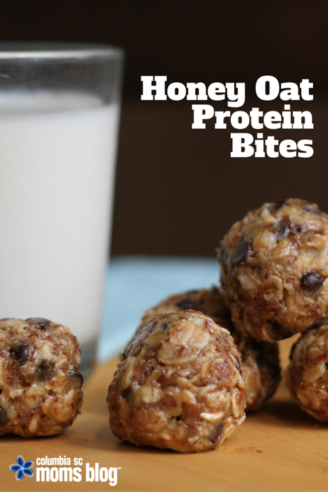 Honey Oat Protein Bites Recipe