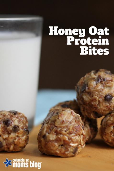 Honey Oat Protein Bites Recipe