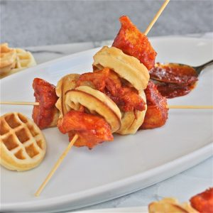 Korean-Fried-Chicken-and-Waffle-Skewers-The-Hopeless-Housewife-576x576