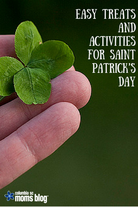 easy treats and actvities for st patricks day