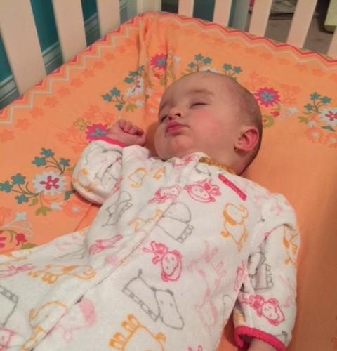 crib sleeping