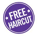 free haircut