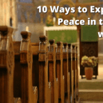 10 Ways to Experience Peace in the Pews with Kids