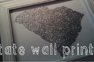 state wall print