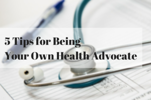 5 Tips for Being Your Own Health square