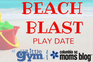 Beach Blast play date with little gym