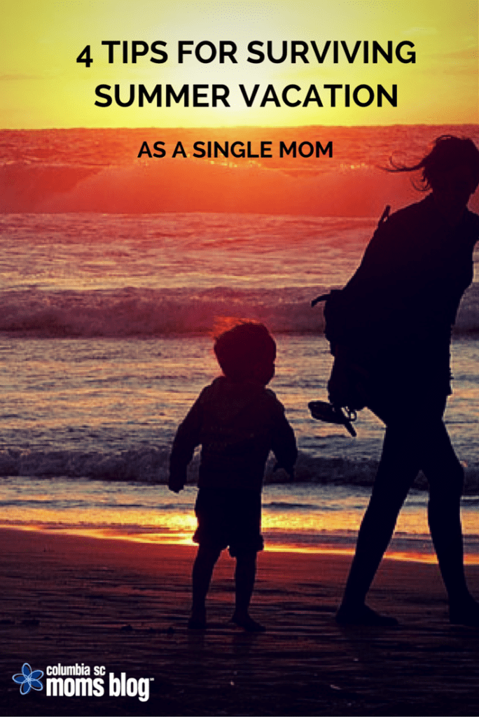 Tips for Surviving a Summer Vacation as a Single Mom
