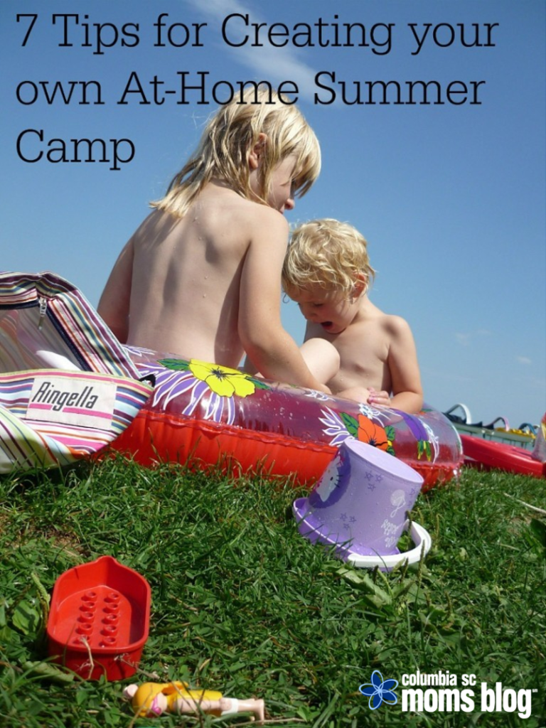 7 tips for creating your own at home summer camp
