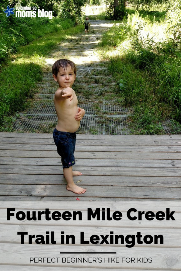 Fourteen mile creek trail in lexington perfect beginners hike for kids
