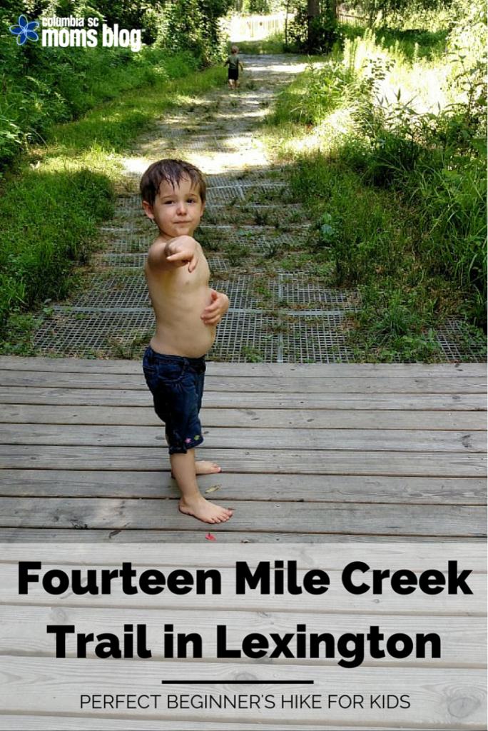 Fourteen mile creek trail in lexington perfect beginners hike for kids