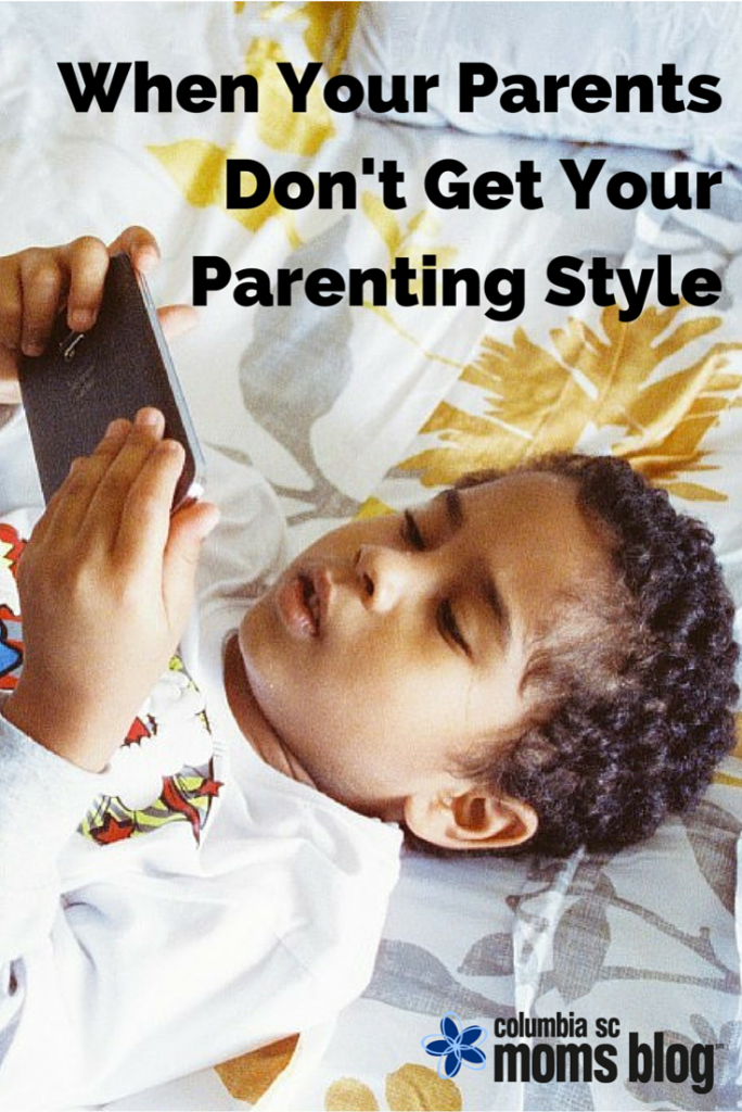 when parents don't get your parenting style