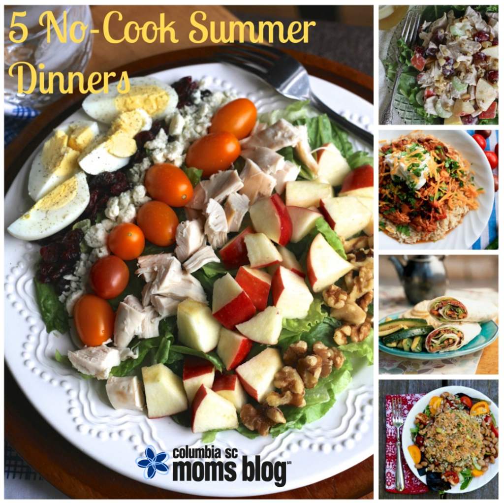 5 no cook summer dinners