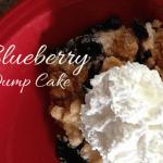 A Summertime Favorite :: Blueberry Dump Cake