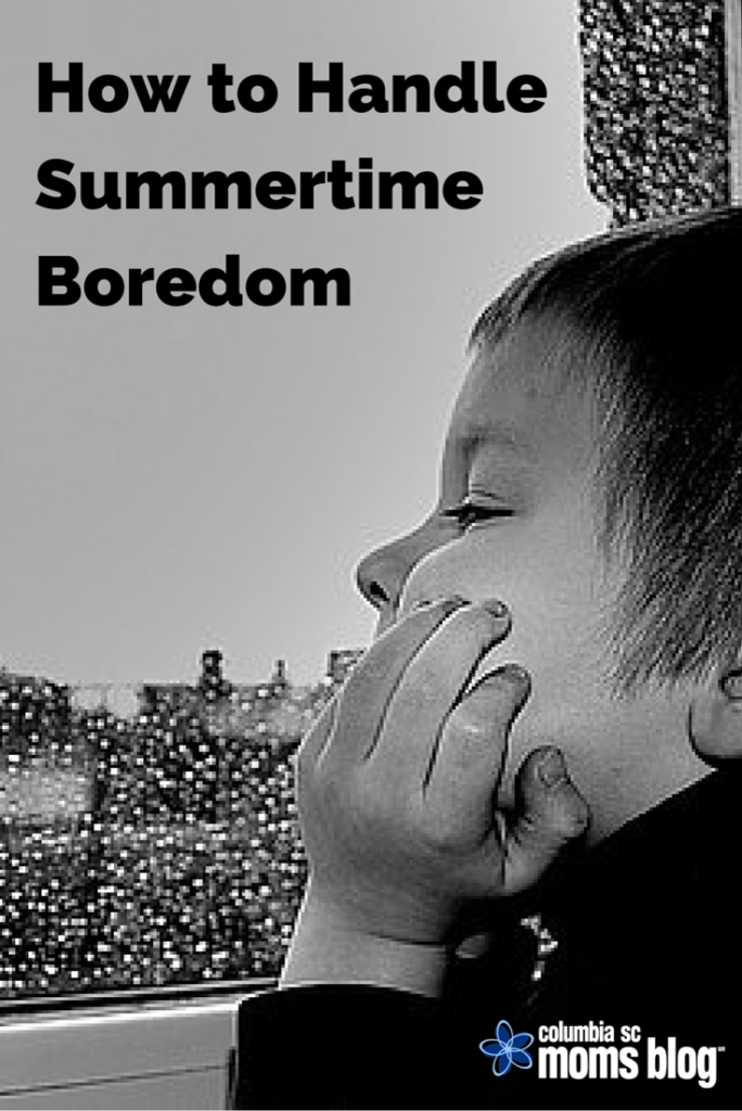 how to handle summertime boredom