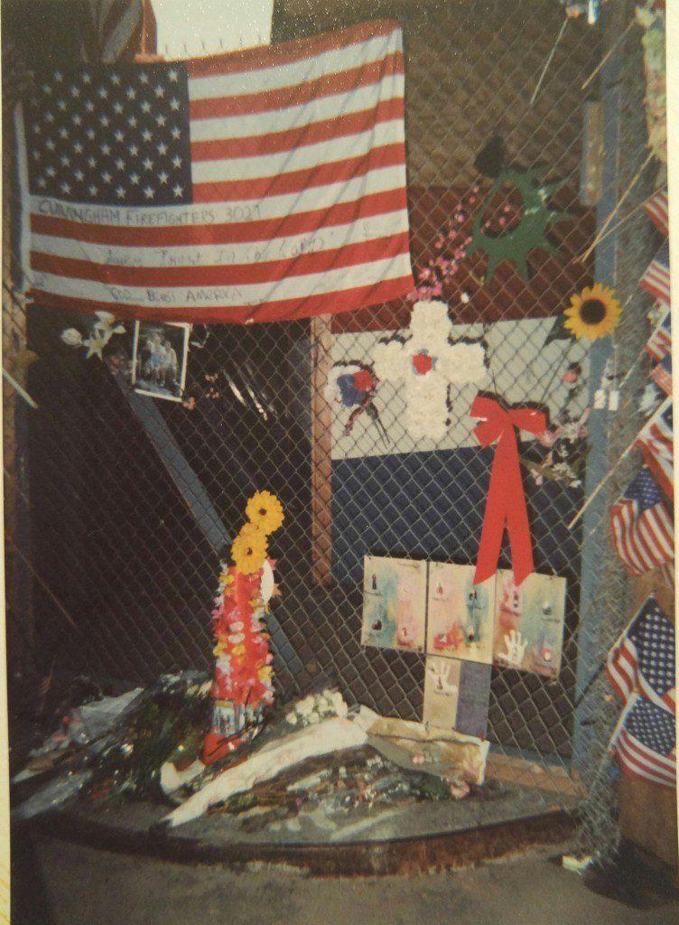 I visited Ground Zero in October 2002.